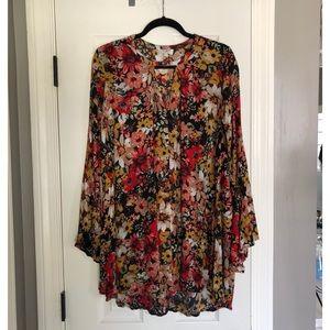 Umgee Keyhole Dress